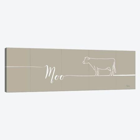 Underlined Farm III Greige Canvas Print #WAC8325} by Veronique Charron Art Print