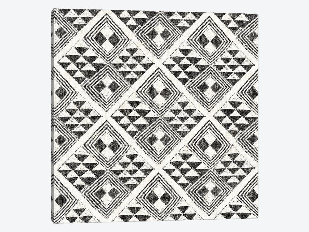 African Wild Pattern, B&W II by Wild Apple Portfolio 1-piece Art Print
