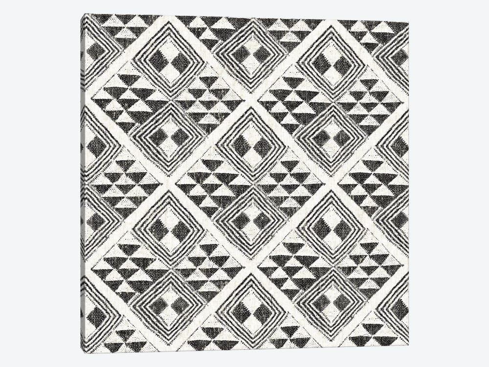 African Wild Pattern, B&W II by Wild Apple Portfolio 1-piece Art Print