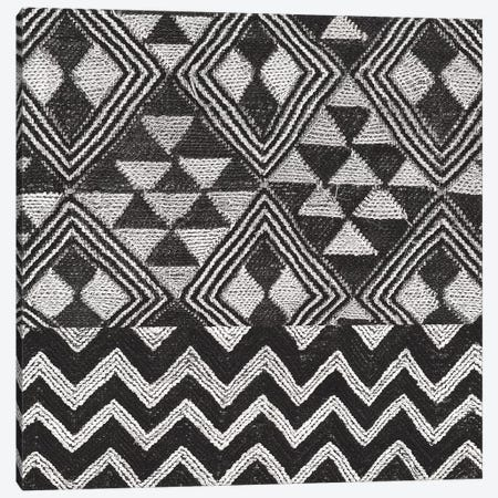 Kuba Cloth Mat II, B&W Canvas Print #WAC8345} by Wild Apple Portfolio Canvas Print
