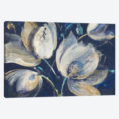 Midnight Garden Canvas Print #WAC8348} by Albena Hristova Canvas Wall Art