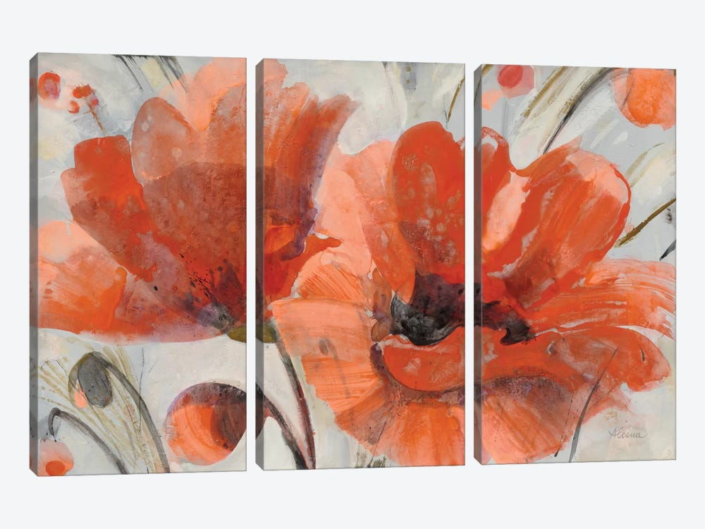 Popping by Albena Hristova 3-piece Canvas Art