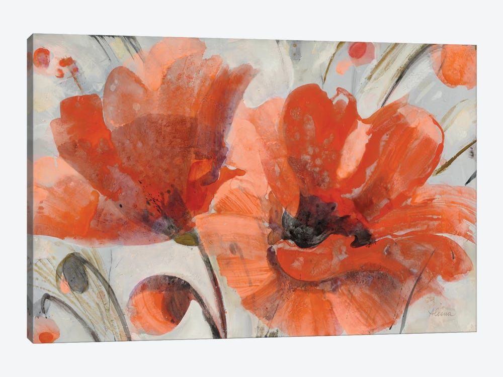 Popping by Albena Hristova 1-piece Canvas Artwork