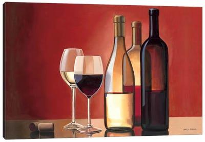 Wine Trio  Canvas Print #WAC834