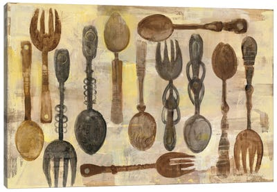 Spoons And Forks Canvas Art Print