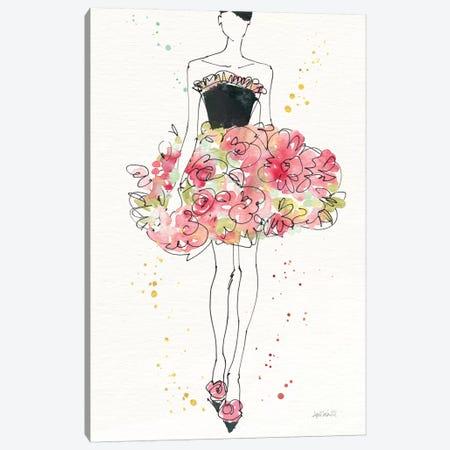 Floral Fashion II, rectangular Canvas Print #WAC8359} by Anne Tavoletti Canvas Print