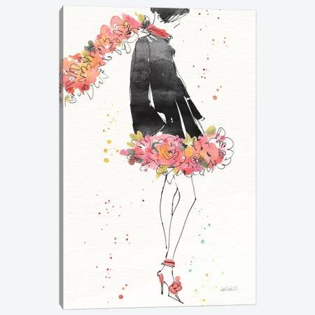 Floral Fashion IV, rectangular Canvas Print #WAC8361} by Anne Tavoletti Canvas Art