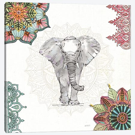 Mandala Morning I Canvas Print #WAC8362} by Anne Tavoletti Canvas Art