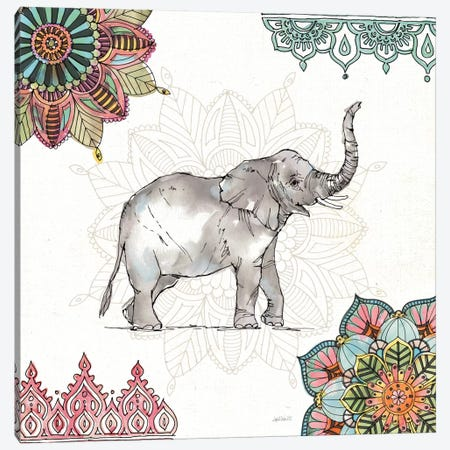 Mandala Morning III Canvas Print #WAC8364} by Anne Tavoletti Canvas Print
