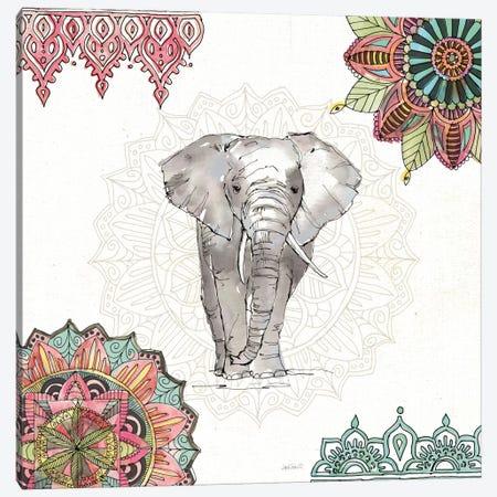 Mandala Morning IV Canvas Print #WAC8365} by Anne Tavoletti Canvas Print