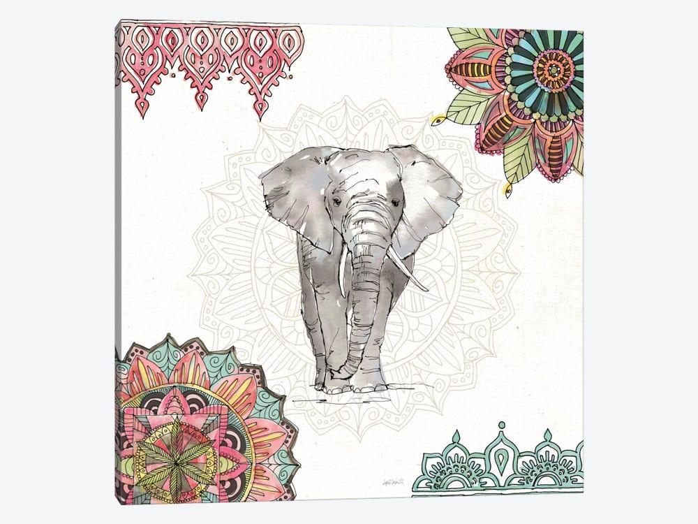 Mandala Morning IV by Anne Tavoletti 1-piece Canvas Wall Art