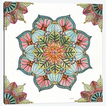 Mandala Morning V Canvas Print #WAC8366} by Anne Tavoletti Art Print