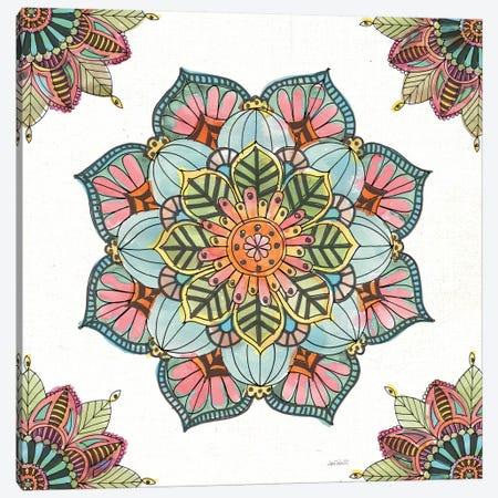 Mandala Morning V Canvas Print #WAC8366} by Anne Tavoletti Art Print