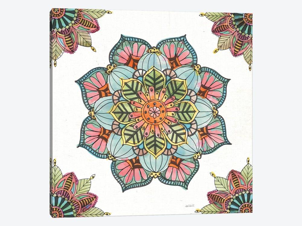 Mandala Morning V by Anne Tavoletti 1-piece Canvas Print