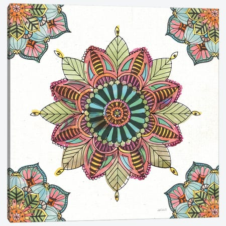 Mandala Morning VI Canvas Print #WAC8367} by Anne Tavoletti Canvas Art Print