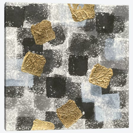 Gold Squares I Canvas Print #WAC8375} by Chris Paschke Canvas Art