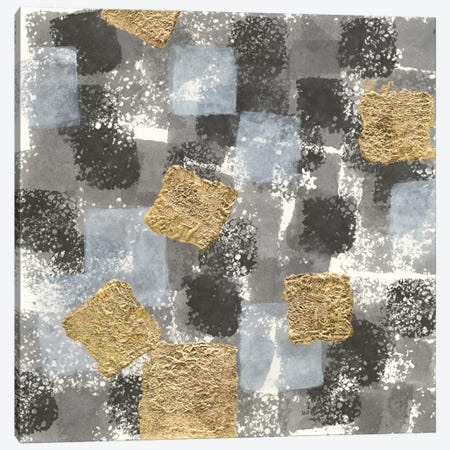 Gold Squares II Canvas Print #WAC8376} by Chris Paschke Canvas Wall Art