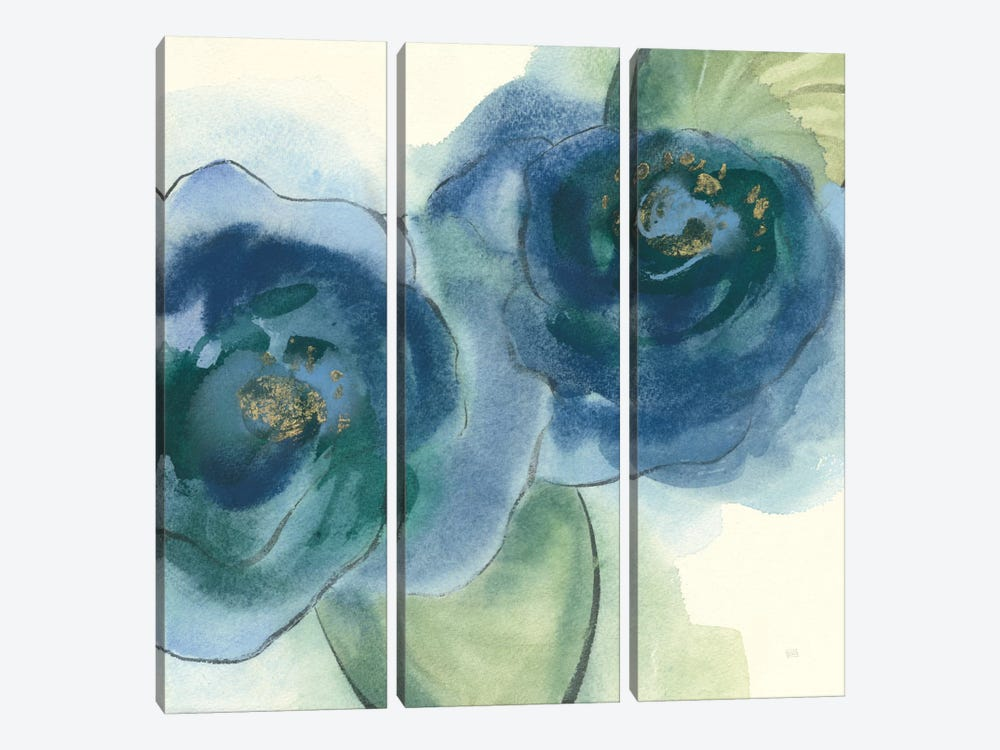 Wannabe Poppies IV by Chris Paschke 3-piece Canvas Wall Art