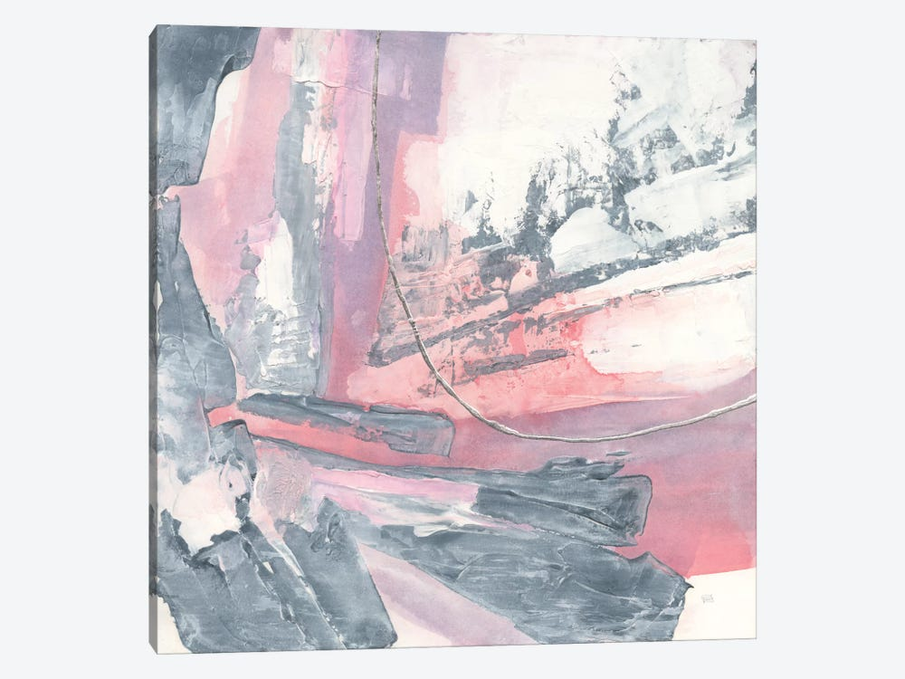 Whitewashed Blush I by Chris Paschke 1-piece Canvas Print