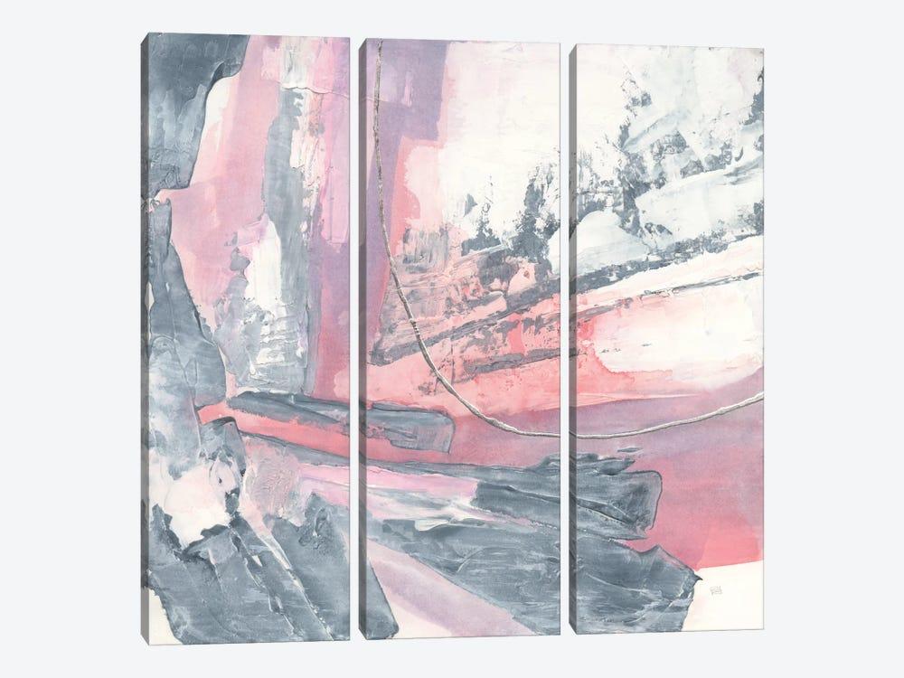 Whitewashed Blush I by Chris Paschke 3-piece Art Print