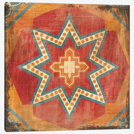 Moroccan Tiles VII Canvas Print #WAC8389} by Cleonique Hilsaca Canvas Artwork