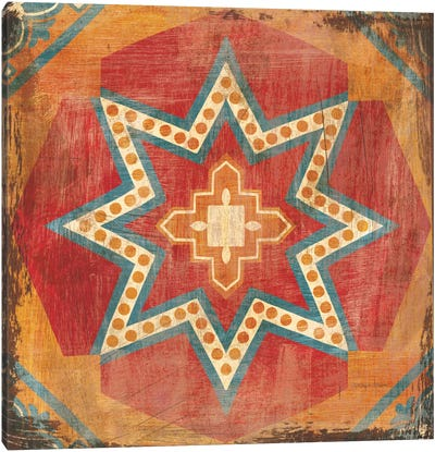 Moroccan Tiles VII Canvas Art Print