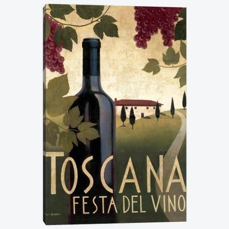 Wine Festival I  Canvas Print #WAC838} by Marco Fabiano Canvas Print