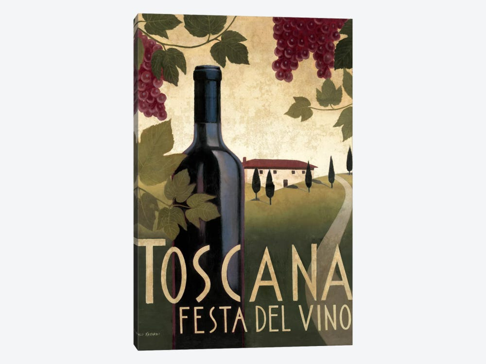 Wine Festival I  by Marco Fabiano 1-piece Canvas Wall Art