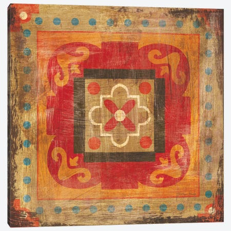 Moroccan Tiles XII Canvas Print #WAC8390} by Cleonique Hilsaca Art Print