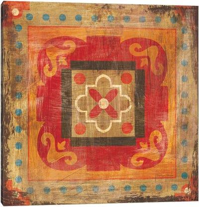Moroccan Tiles XII Canvas Art Print