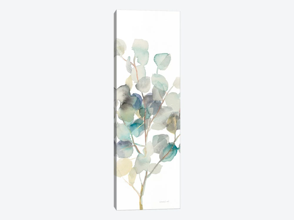 Eucalyptus On White III by Danhui Nai 1-piece Canvas Artwork