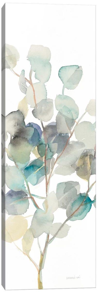 Eucalyptus On White III Canvas Art Print