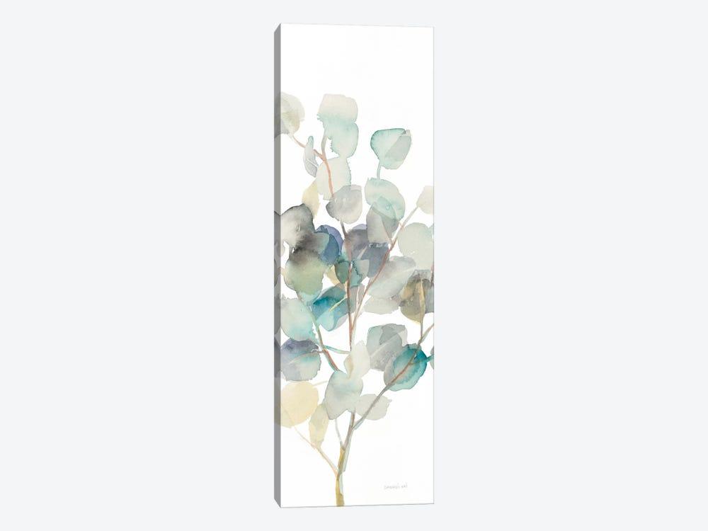 Eucalyptus On White III by Danhui Nai 1-piece Canvas Artwork