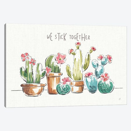 Desert Bloom I Canvas Print #WAC8410} by Daphne Brissonnet Canvas Wall Art