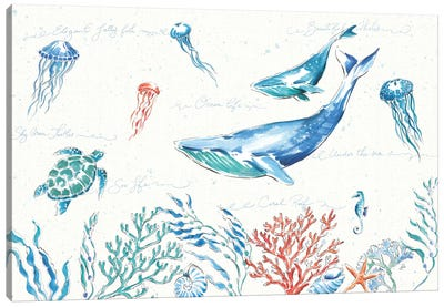 Maritime I Canvas Art Print