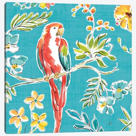 Tropical Oasis III Canvas Print #WAC8422} by Daphne Brissonnet Canvas Print