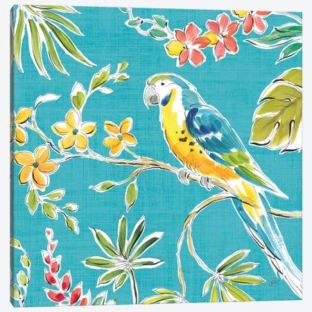 Tropical Oasis IV 3-Piece Canvas #WAC8423} by Daphne Brissonnet Canvas Print