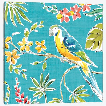 Tropical Oasis IV Canvas Print #WAC8423} by Daphne Brissonnet Canvas Print
