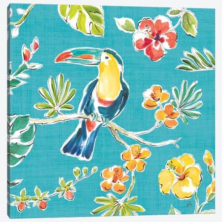 Tropical Oasis V Canvas Print #WAC8424} by Daphne Brissonnet Canvas Artwork