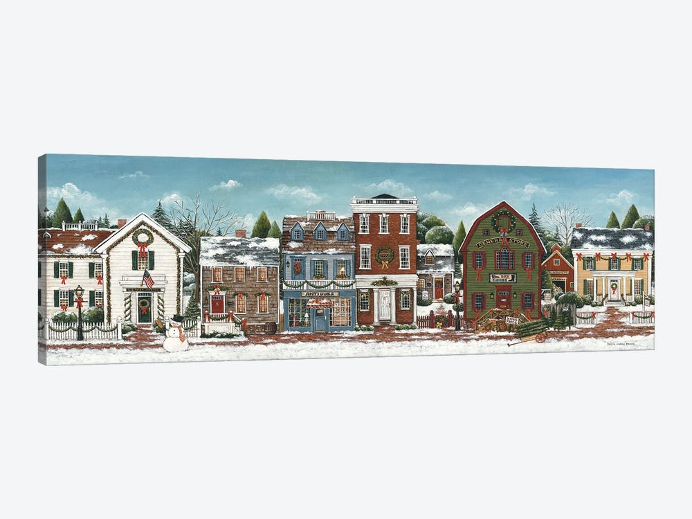 Christmas Village by David Carter Brown 1-piece Art Print