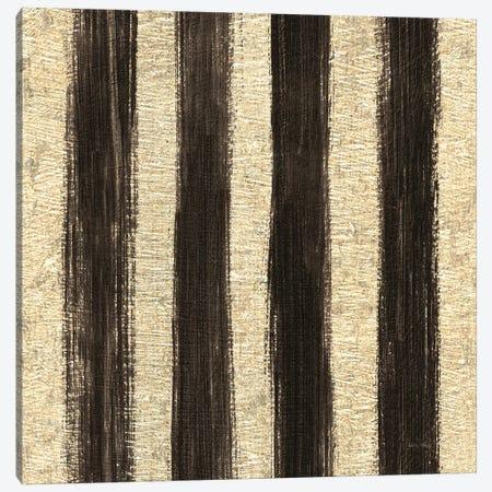 Shoe Fetish Pattern I, Dark Stripes Canvas Print #WAC8434} by Emily Adams Canvas Art Print