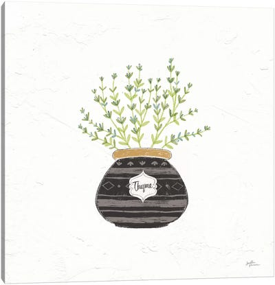Fine Herbs VI Canvas Art Print
