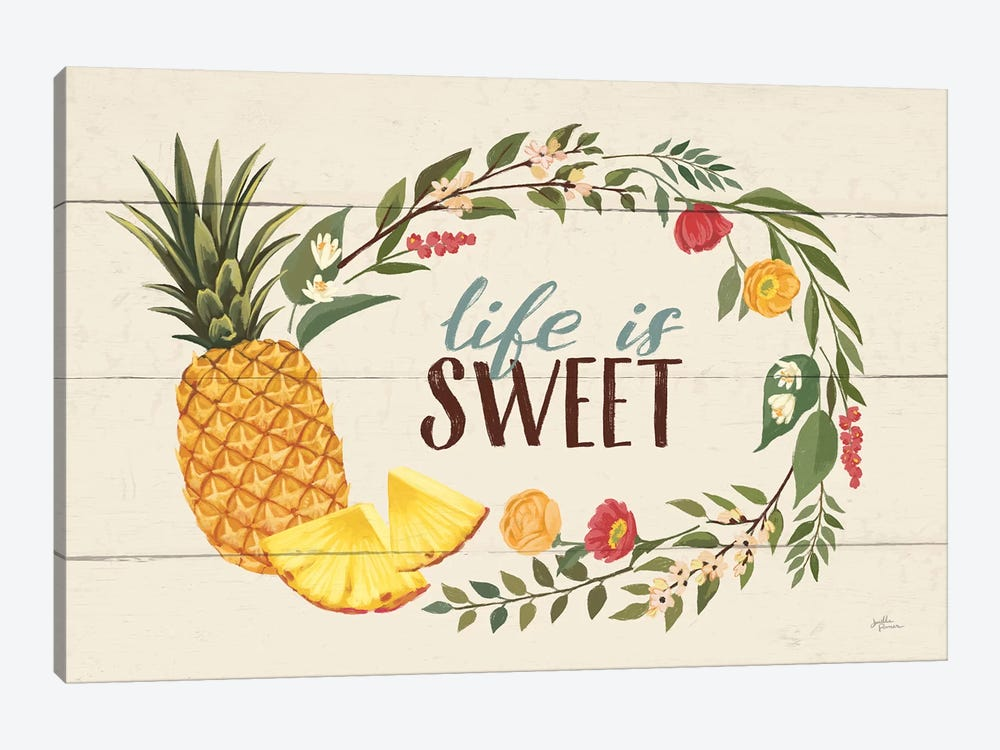 Sweet Life X by Janelle Penner 1-piece Canvas Wall Art