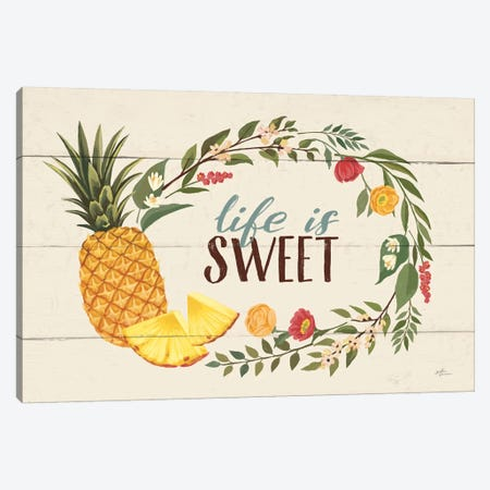 Sweet Life X Canvas Print #WAC8477} by Janelle Penner Art Print