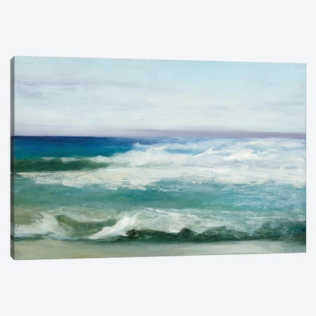 Azure Ocean Canvas Print #WAC8485} by Julia Purinton Canvas Art