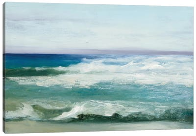 Azure Ocean Canvas Art Print