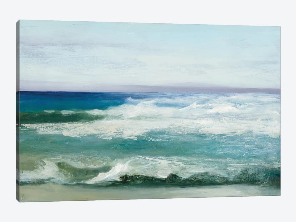 Azure Ocean by Julia Purinton 1-piece Canvas Print