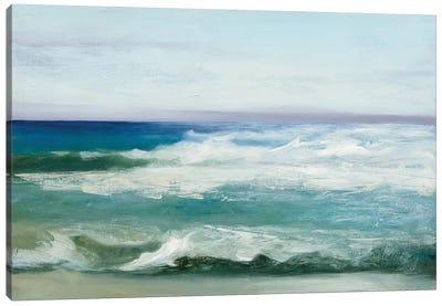 Azure Ocean Canvas Art Print