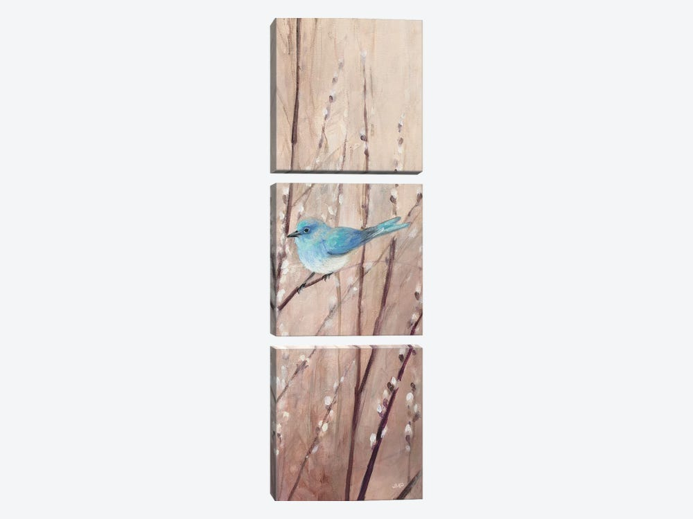 Pretty Birds I by Julia Purinton 3-piece Canvas Wall Art