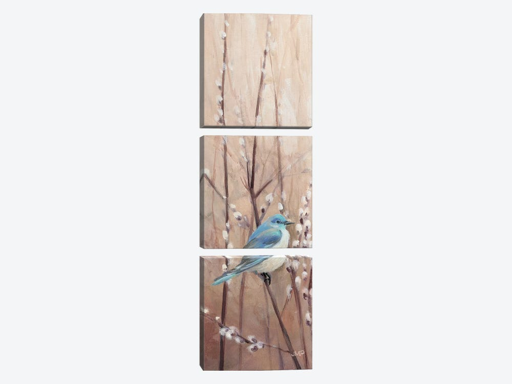 Pretty Birds II by Julia Purinton 3-piece Canvas Print